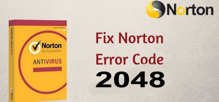 Fix Norton Error 2048